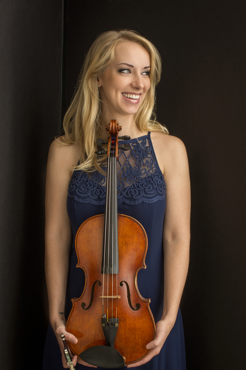 Molly Carr, Violist - Photo Credit: Dario Acosta