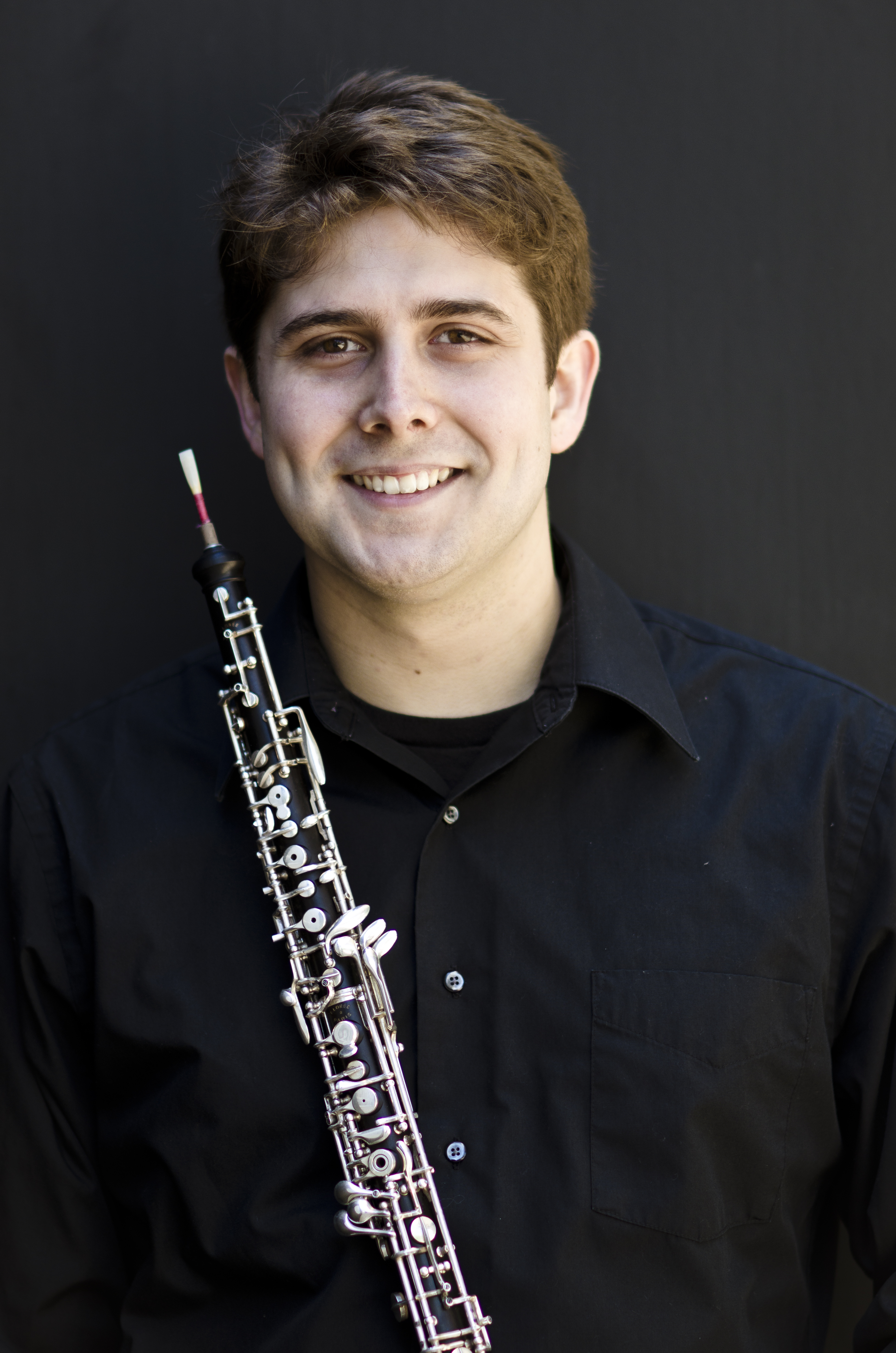 James Riggs, Oboist - Photo Credit: Harrison Linsey