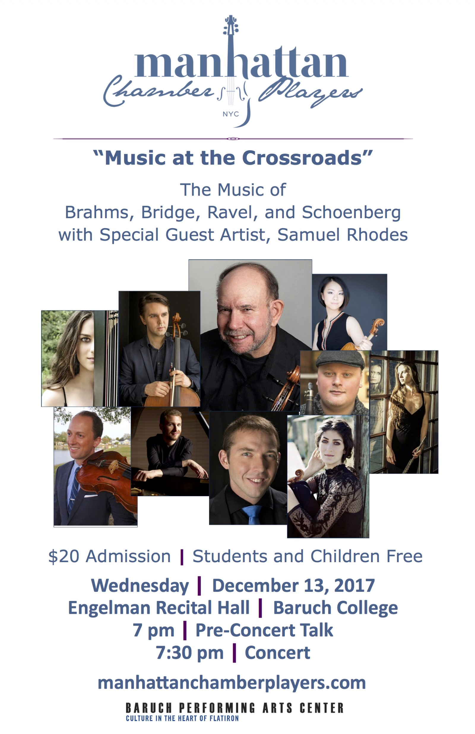 Music at the Crossroads Poster